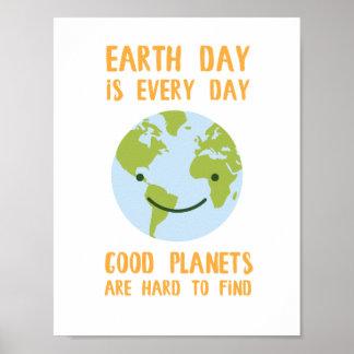Os bons planetas são poster dificil de encontrar
