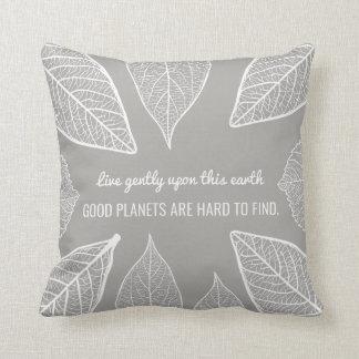 Os bons planetas são travesseiro decorativo almofada