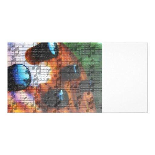 Os botões baixos do recolhimento do olho do tigre  cartoes com foto personalizados