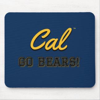 Os Cal vão ursos!: Uc Berkeley Mousepad #2