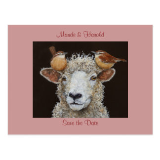 Os carneiros salvar o cartão da data