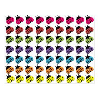 Os cartão de LadyBag da fantasia do bombom Cartão Postal