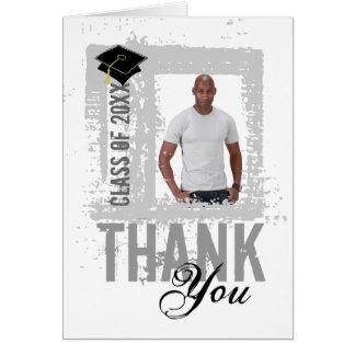 Os cartões de agradecimentos da graduação