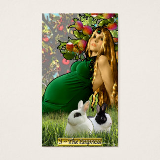 Os cartões de visitas da imperatriz de Banx Tarot