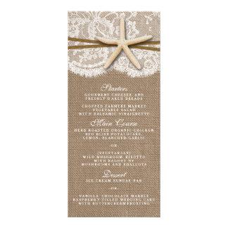 Os cartões rústicos do menu da coleção do modelos de panfletos informativos
