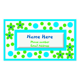 Os cartões telefónicos das crianças coloridas cartão de visita