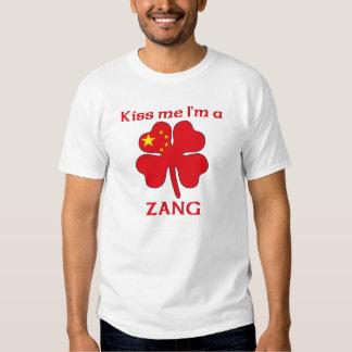 Os chineses personalizados beijam-me que eu sou tshirts