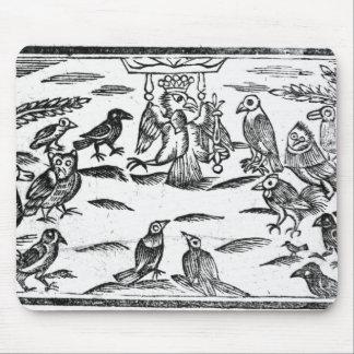 Os Choristers arborizados ou a harmonia dos pássar Mouse Pad