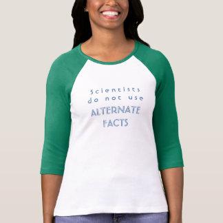 Os cientistas não usam a camisa alternativa do