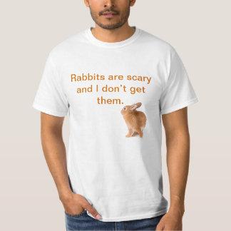Os coelhos são assustadores - Alt Camiseta