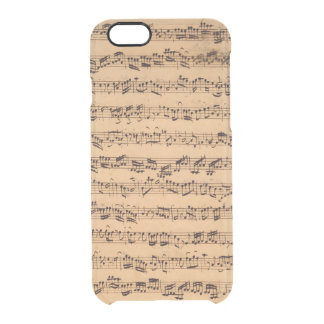 Os concertos de Brandenburger, No.5 D-Dur, 1721 Capa Para iPhone 6/6S Clear