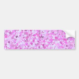 Os confetes cor-de-rosa dos grafites do modelo DIY Adesivo Para Carro