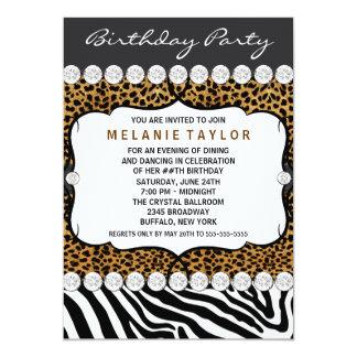 Os convites de festas de aniversários da mulher da