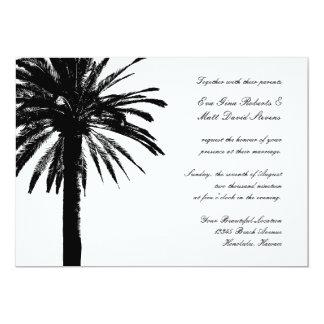 Os convites do casamento da palmeira | tropical