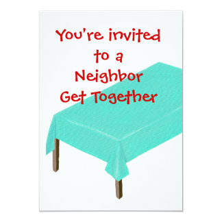 Os convites vizinhos da reunião, personalizam