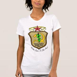 Os cuidados médicos TW da Obama-Nação iluminam-se Tshirts
