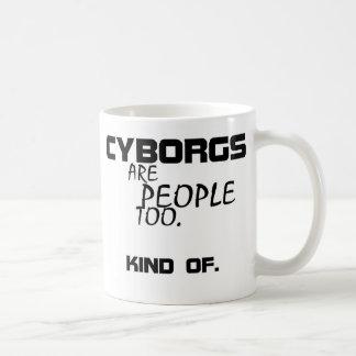 Os Cyborgs são pessoas demasiado da caneca