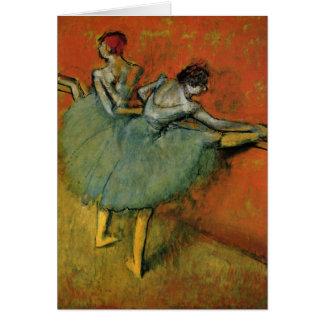 Os dançarinos no bar por Edgar Germano Hilário Cartão De Nota