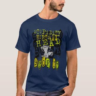 Os danos da estupidez: Camisa espumosa