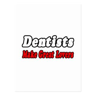 Os dentistas fazem grandes amantes cartoes postais