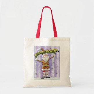 Os desenhos animados acreditam em Papai Noel! Bolsa Para Compras