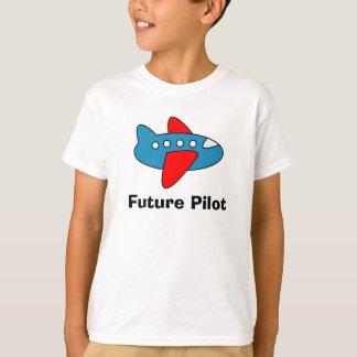 Os desenhos animados do avião caçoam a camiseta