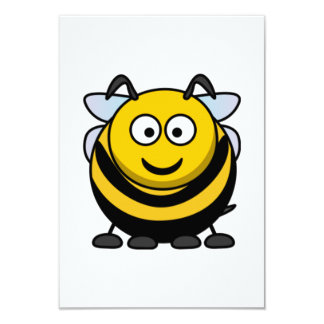Os desenhos animados grandes Bumble a abelha Convite Personalizado
