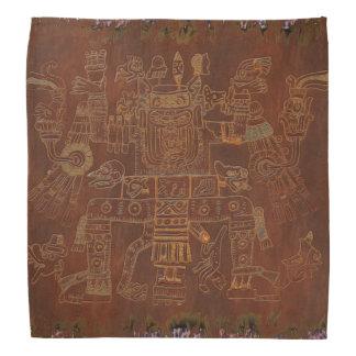 Os deuses sul - arte popular americana faixa de cabeça