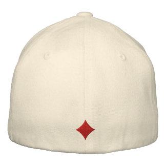 Os diamantes bordaram o chapéu boné bordado