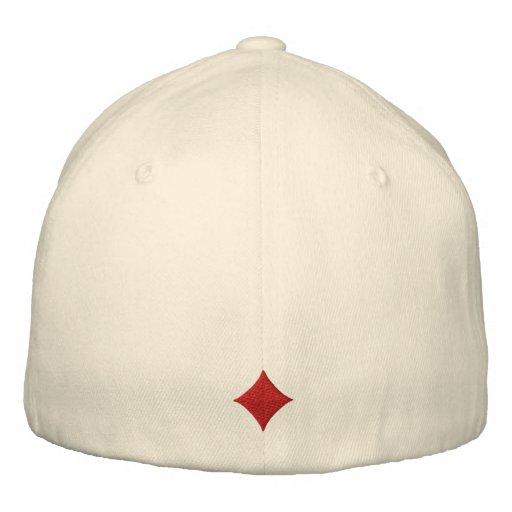 Os diamantes bordaram o chapéu bonés