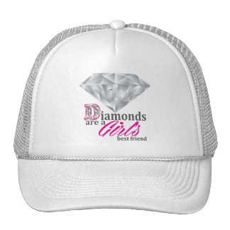 Os diamantes são o melhor amigo de uma menina