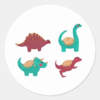 Os dinossauros adesivo