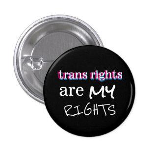 os direitos do transporte são meu botão de bóton redondo 2.54cm