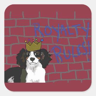 Os direitos ordenam - rei Cavalier - etiquetas