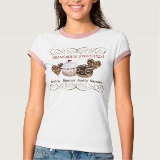 Os docinhos da avó, camiseta personalizada