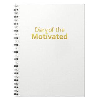 Os DOM - Caderno do motivado (branco)