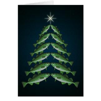 Os doze bacalhaus do cartão de Natal do Natal