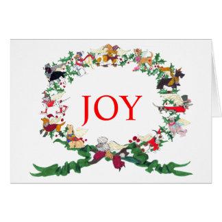 Os doze cães do cartão de Natal