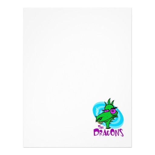 Os dragões panfleto