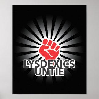 Os Dyslexics unem-se! Poster