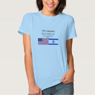 Os E.U. apoiam Israel Tshirts