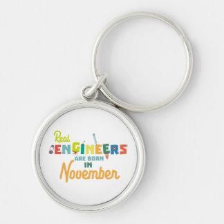 Os engenheiros são em novembro Z9g4h nascidos Chaveiro