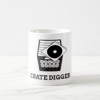 Os escavadores da caixa unem-se! caneca de café
