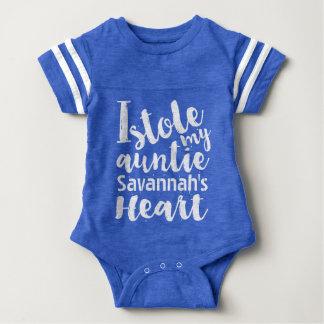 Os esportes azuis personalizados roubaram meu body para bebê