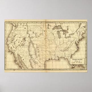 Os Estados Unidos 18 Poster
