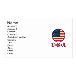 Os Estados Unidos da América Cartões De Visitas