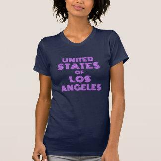 Os Estados Unidos de Los Angeles Camiseta