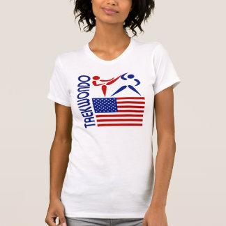 Os Estados Unidos de Taekwondo Camisetas