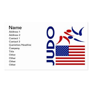 Os Estados Unidos do judo Cartao De Visita