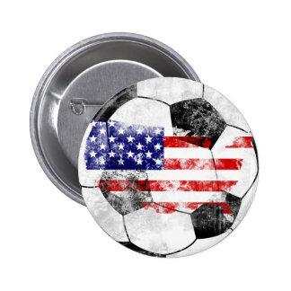 Os EUA afligiram o futebol Botons